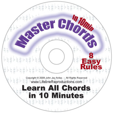 Master Chords In 10 Minutes DVD